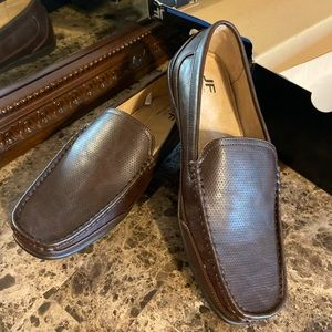 Other - Men's brown slip on loafers -new in box
